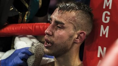 Photo of RUSSIAN BOXER DADASHEV SHOWING 'SEVERE SIGNS OF BRAIN DAMAGE', IN COMA AFTER 11TH ROUND TKO