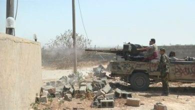 صورة قوات الجيش الليبي تسيطر على منطقة الهيرة جنوب طرابلس