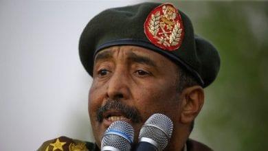 صورة عبد الفتاح البرهان رئيساً للمجلس السيادي السوداني