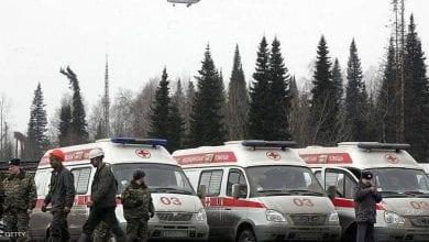 صورة السلطات الروسية توصي سكان قرية نيونوكسا في مدينة سيفيرودفينسك بمغادرتها