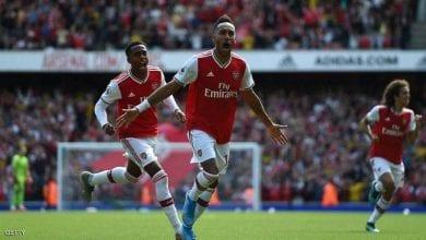 صورة أرسنال يحقق انتصاره الثاني على التوالي في الدوري الإنجليزي الممتاز