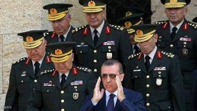 صورة هزة قوية داخل الجيش التركي و أنباء عن استقالة عدد من الجنرالات