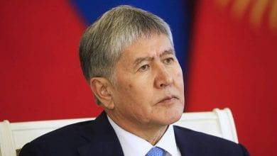Photo of Kyrgyzstan's ex-President Atambayev surrenders to authorities