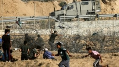 Photo of Israel army says killed 4 armed Palestinians on Gaza border