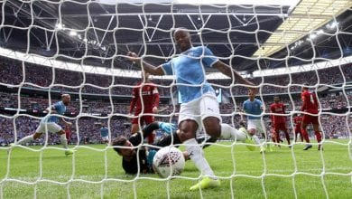 Photo de Foot: face à Liverpool, Manchester City conserve le Community Shield