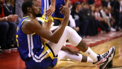 Photo of Durant doesn't blame Warriors for torn Achilles tendon: report
