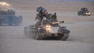 صورة عملية واسعة ضد داعش في العراق