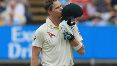 Photo of Smith scores second century of Ashes opener as Australia build lead