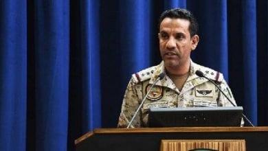 صورة التحالف العربي: لن نقبل بأي عبث بمصالح الشعب اليمني