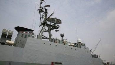 صورة ايران ترسل بارجة حربية لمواكبة سفنها في بحر عمان وخليج عدن