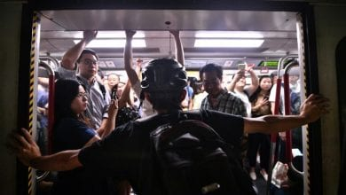 Photo of Hong Kong leader says city on brink, protesters cause travel chaos