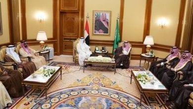 صورة الأوضاع على الساحة اليمنية خلال اجتماع الملك سلمان ومحمد بن زايد بحضور ولي العهد السعودي