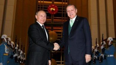 صورة أردوغان لبوتين: هجمات الجيش السوري في شمال غرب البلاد تهدد الأمن القومي التركي