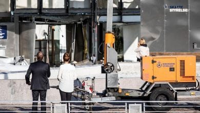 Photo of Danish capital hit by second blast in four days – police