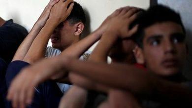 صورة استشهاد 3 فلسطينيين بنيران جيش الاحتلال الاسرائيلي شمال غزة