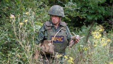صورة مقتل أربعة جنود أوكرانيين