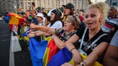 Photo of Romania: Tens of thousands rally against government in Bucharest