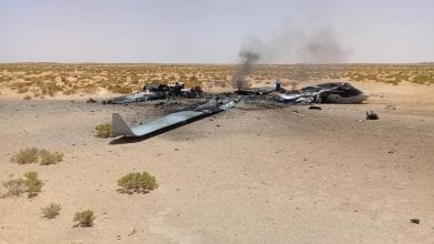 Photo of The Cargo Aircraft Destroyed by LNA Air Force in Misrata was Delivering Weapons and Missiles to Turkish Drones