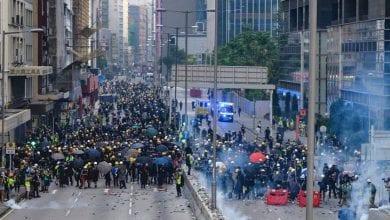 Photo de Hong Kong: reprise des heurts après 10 jours d'accalmie