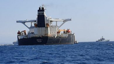 Photo of Grace 1 Iranian oil tanker sails from Gibraltar after being released