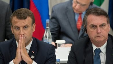 "Photo de Macron accuse Bolsonaro d'avoir ""menti"" sur le climat, la France s'oppose à l'accord UE-Mercosur"