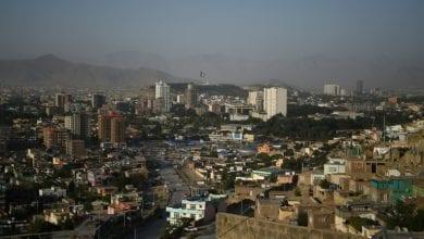 صورة انفجار كبير يهز كابول