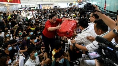 Photo of Protester blockade triggers second day of Hong Kong airport chaos