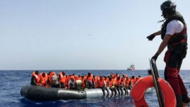 Photo de Méditerranée: 85 migrants sur l'Ocean Viking