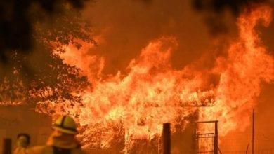 Photo of Nine killed in Ukraine hotel fire