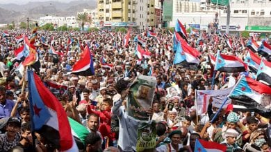 Photo of Thousands of Yemenis rally in support for southern council and forces