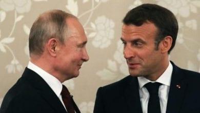 Photo of Ukraine peace the prize as Macron hosts Putin