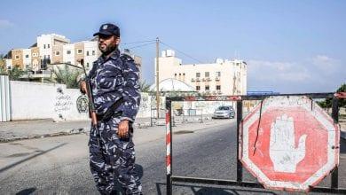 Photo de Gaza en «état d'alerte» après la mort de trois policiers palestiniens dans des attaques à la bombe survenues cette nuit