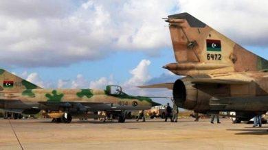 Photo de L'armée libyenne opère 13 raids contre une base de drones turcs à Misrata