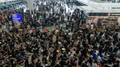 Photo de Hong Kong: week-end crucial pour les manifestants après les violences à l'aéroport