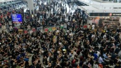 Photo de Hong Kong: les manifestants se préparent à un rassemblement de masse dimanche
