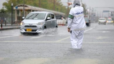 Photo of Two dead as Japan orders 670,000 to flee heavy rains
