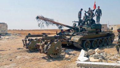 Photo of Syrian Army advances towards Khan Sheikhoun town in Idlib