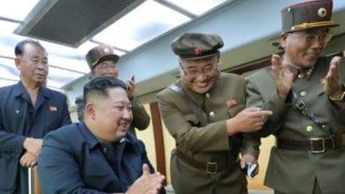 Photo de La Corée du Nord a tiré deux nouveaux projectiles en mer