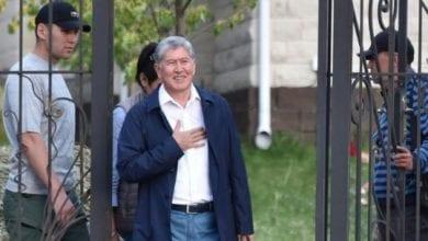 Photo de L'ex-président kirghize Atambaïev placé en détention avant son procès