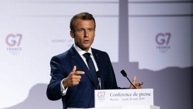 Photo of The Latest: Macron Says Iran Move Could Still Calm Tensions