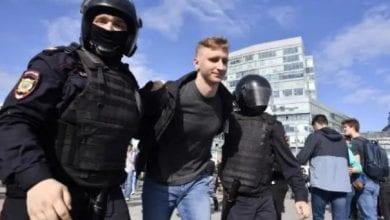Photo de Russie: Une nouvelle manifestation de l'opposition réprimée à Moscou