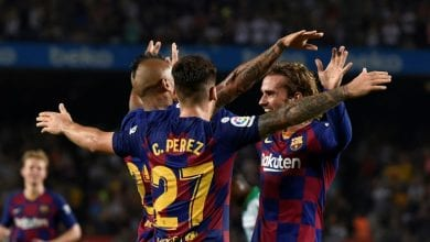 Photo of I tried to copy Messi and LeBron, says Griezmann after Barca double