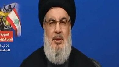 Photo of Nasrallah: Israeli cannot attack in Beirut and still stay safe.
