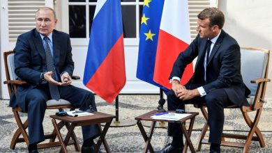 Photo of Macron urges Putin to back a Ukraine leaders' summit over coming weeks at French talks