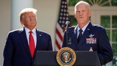 Photo de Trump lance un commandement de l'espace face aux menaces de guerre des étoiles