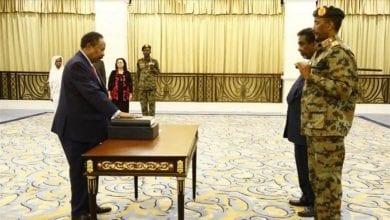 Photo of Sudan's new Prime Minister Abdalla Hamdok