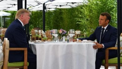 Photo of Macron, Trump break the ice with surprise pre-G7 lunch