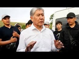 صورة رئيس قرغيزستان السابق ألمازبيك أتامبايف يسلم نفسه إلى السلطات