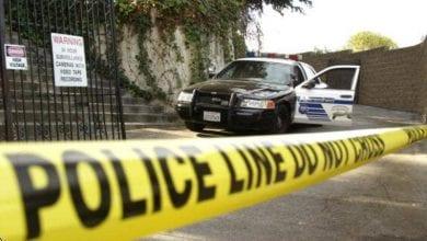 صورة قتيل و5 مصابين في أحد شوارع العاصمة واشنطن
