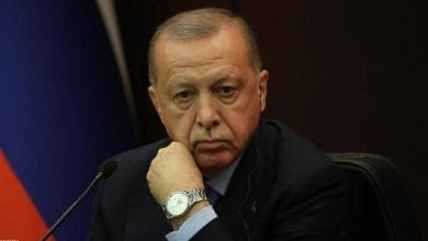 صورة بلاغ لوضع أردوغان على قوائم الترقب والوصول بسبب جرائمه في سوريا
